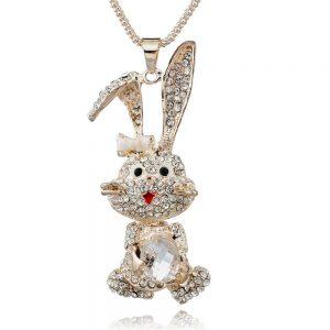 rabbit necklace pendant