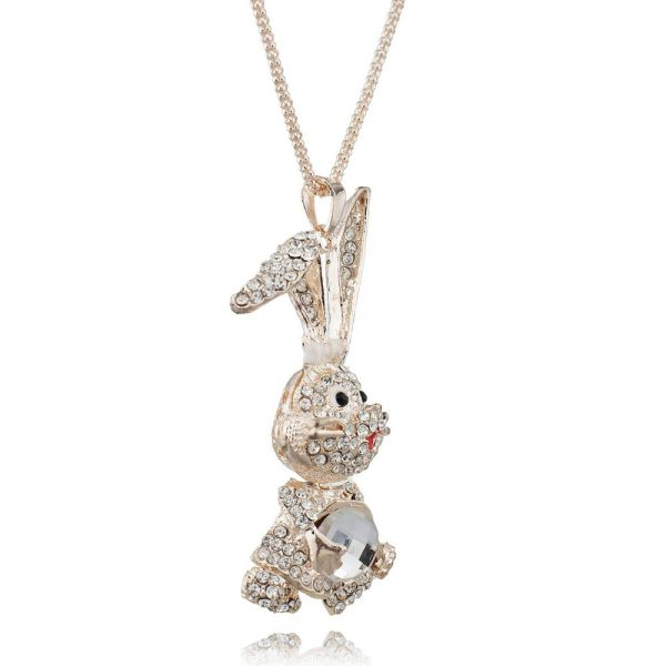 rabbit necklace pendant
